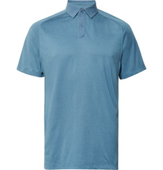 Under Armour Striped Threadborne HeatGear Golf Polo Shirt