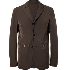 Ermenegildo Zegna Water-Repellent Shell Blazer