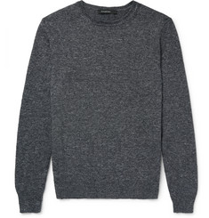 Ermenegildo Zegna Mélange Cotton Sweater