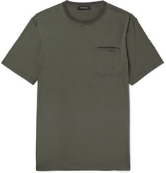 Ermenegildo Zegna Mercerised Cotton T-Shirt