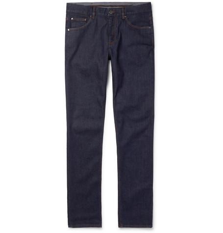 Ermenegildo Zegna Slim-fit Stretch-denim Jeans - Indigo sC9jqS
