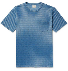 Faherty Striped Cotton-Jersey T-Shirt