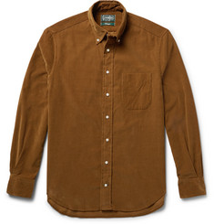 Gitman Vintage - Slim-Fit Button-Down Collar Cotton-Corduroy Shirt