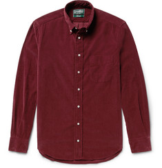 Gitman Vintage - Button-Down Collar Cotton-Corduroy Shirt