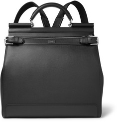 Dolce & Gabbana - Sicily Pebble-Grain Leather Backpack