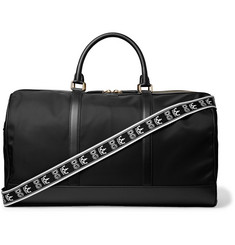 Dolce & Gabbana Leather-Trimmed Nylon Holdall