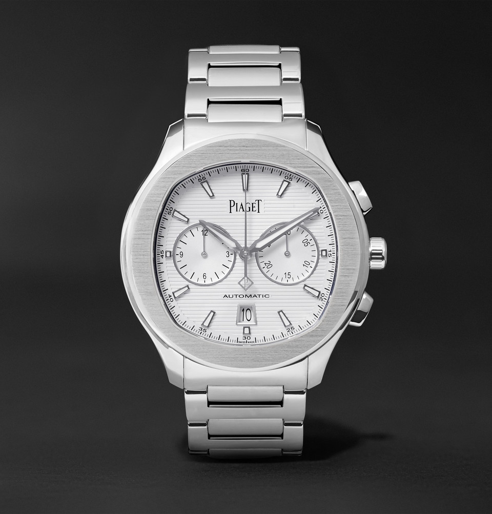 Polo S Chronograph 42mm Stainless Steel Watch - White
