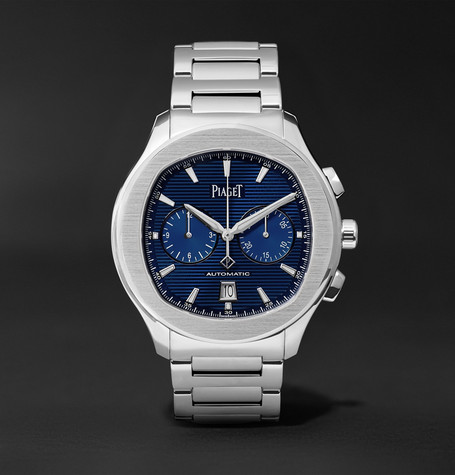 Polo S Chronograph 42mm Stainless Steel Watch - Silver