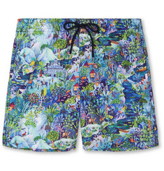 Derek Rose Maui 2 Mid-Length Printed Shell Swim Shorts