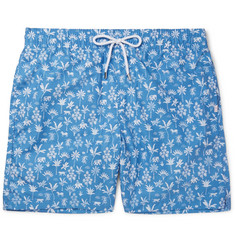 Derek Rose Maui 1 Mid-Length Printed Shell Swim Shorts