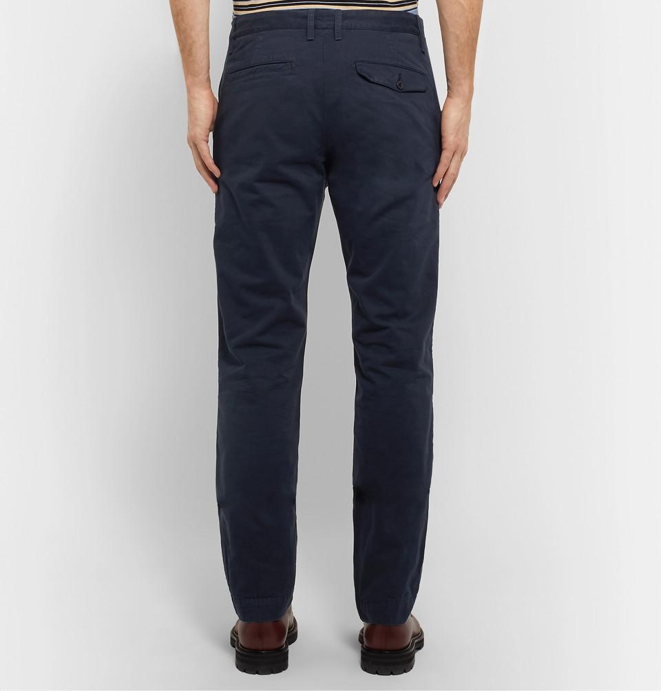Mr P. Garment-Dyed Cotton-Twill Chinos