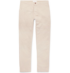 Mr P.-Garment-Dyed Cotton-Twill Chinos