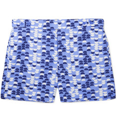 Frescobol Carioca - Summer Samba Slim-Fit Short-Length Printed Swim Shorts