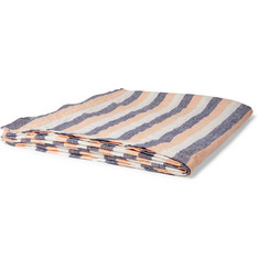 Frescobol Carioca - Striped Linen Beach Towel