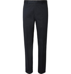 Richard James Navy Hyde Stretch-Cotton Suit Trousers