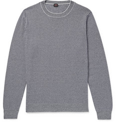 MP Massimo Piombo Striped Cashmere Sweater