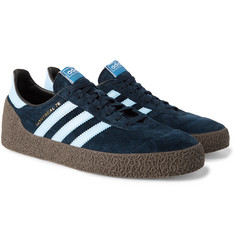 adidas Originals Montreal 76 Leather-Trimmed Suede Sneakers