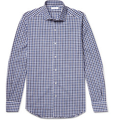 Boglioli Slim-Fit Gingham Cotton Shirt