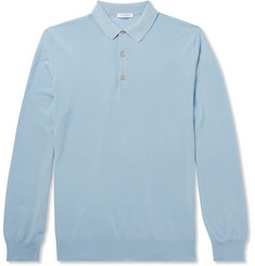 Boglioli - Slim-Fit Cotton Polo Shirt