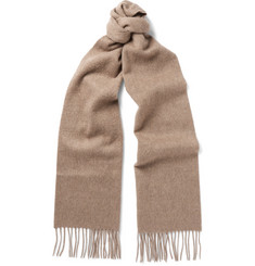 Johnstons of Elgin - Fringed Cashmere Scarf