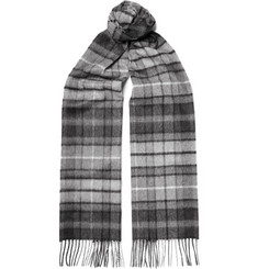 Johnstons of Elgin - Checked Cashmere Scarf