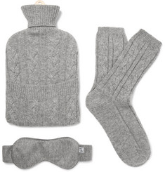 Johnstons of Elgin - Cable-Knit Cashmere Lounge Set