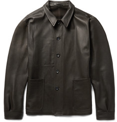 Connolly Full-Grain Leather Jacket