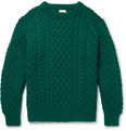 Connolly - Aran-Knit Wool Sweater