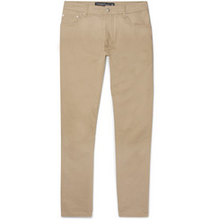 Hackett Trinity Slim-Fit Stretch-Cotton Twill Trousers