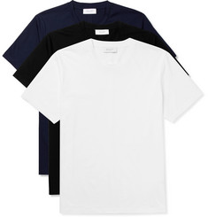 Enlist Three-Pack Mercerised Cotton-Jersey T-Shirts