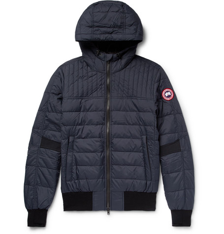 Cabri Quilted Shell Hooded Down Jacket by Canada Goose
