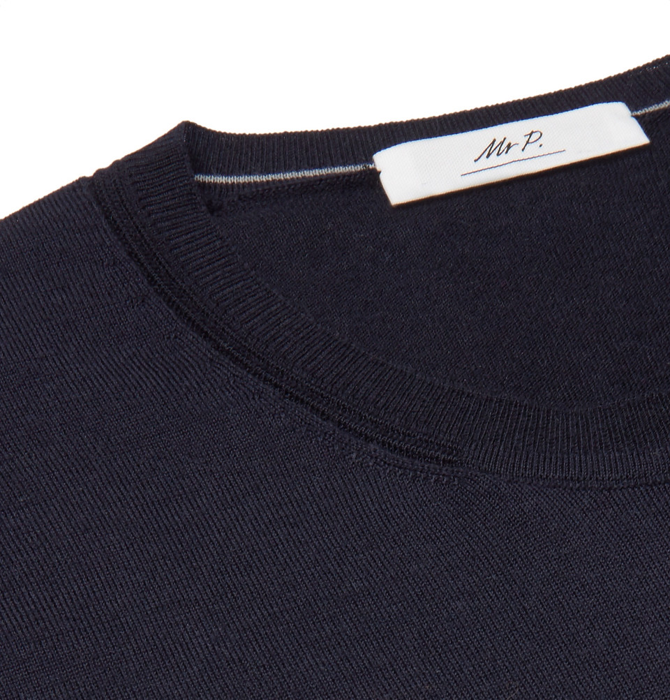 Mr P. Slim-Fit Cashmere Sweater