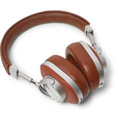 Ermenegildo Zegna - + Master & Dynamic Pelle Tessuta Leather Headphones
