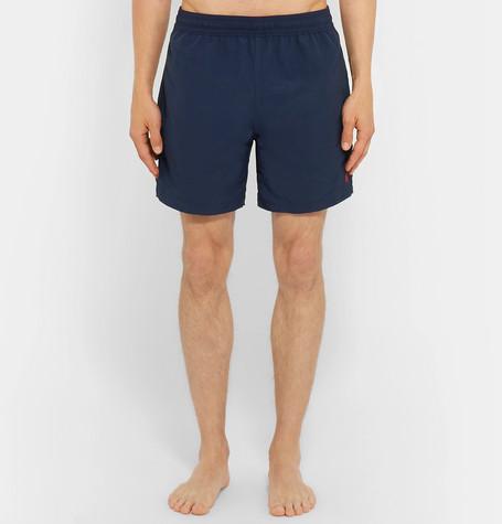 904deba4a8 Polo Ralph Lauren Hawaiian Mid-Length Swim Shorts In Navy   ModeSens