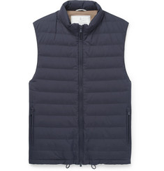 Brunello Cucinelli - Quilted Shell Down Gilet