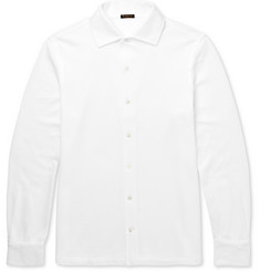 Rubinacci Slim-Fit Cotton-Piqué Polo Shirt