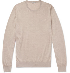 Caruso Cashmere and Silk-Blend Sweater