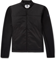 NN07 Bryan Slim-Fit Quilted Shell and Jersey Primaloft Jacket
