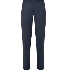 Thom Sweeney Slim-Fit Wool-Twill Suit Trousers