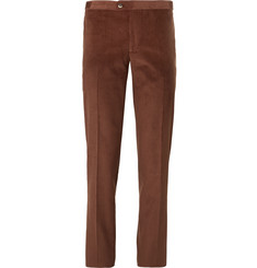 Thom Sweeney - Slim-Fit Cotton and Cashmere-Blend Corduroy Suit Trousers