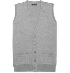 Thom Sweeney Slim-Fit Mélange Merino Wool Vest