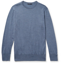 Thom Sweeney Slim-Fit Merino Wool Sweater