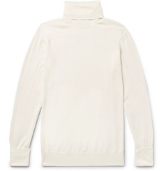 Thom Sweeney - Slim-Fit Merino Wool Rollneck Sweater