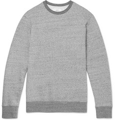 Mr P. - Mélange Loopback Cotton-Jersey Sweatshirt