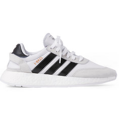 adidas Originals I-5293 Suede-Trimmed Neoprene Sneakers