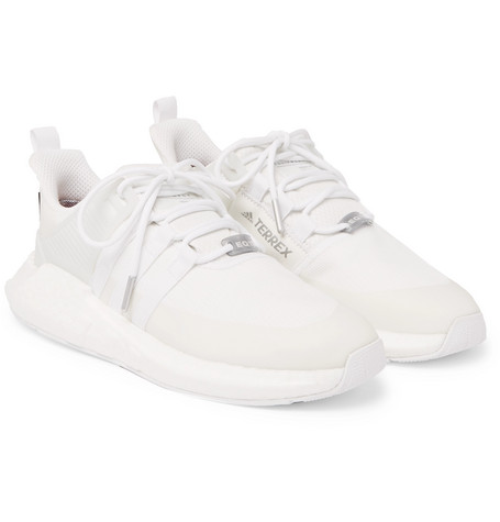 Eqt Support 93/17 Gtx Mesh And Rubber Sneakers - Whiteadidas Originals Wh6bk0