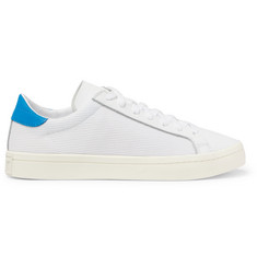 adidas Originals Court Vantage Leather and Canvas Sneakers