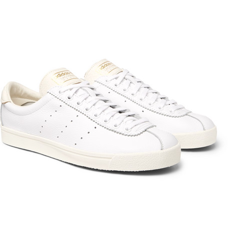 Adidas White Lacombe SPZL Leather Sneakers release dates cheap price manchester great sale online cheap sale cheap ouqwcLakI