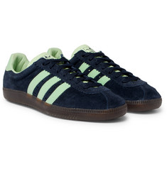 adidas Originals - Padiham Spezial Leather-Trimmed Suede Sneakers