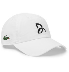 Lacoste Tennis Novak Djokovic Embroidered Shell Tennis Cap